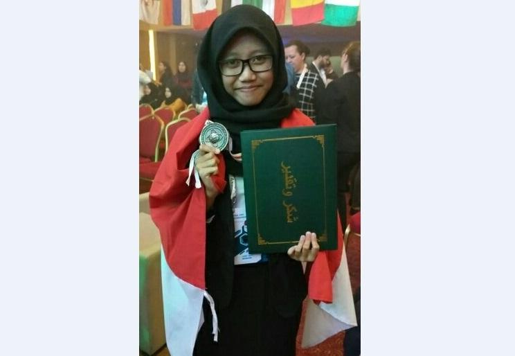 Pelajar Asal Purbalingga Raih Medali di Tunisia
