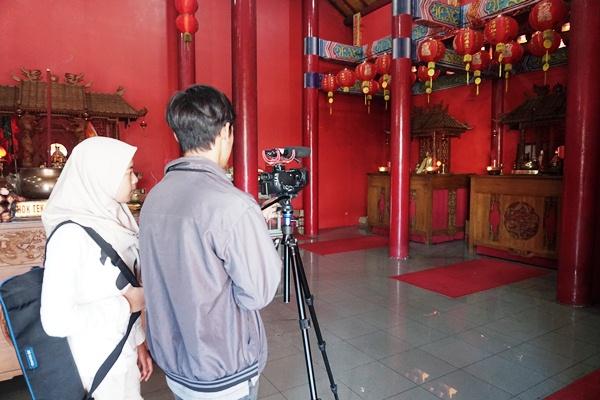 Pelajar SMKN 1 Purbalingga Garap Film Orang-Orang Tionghoa