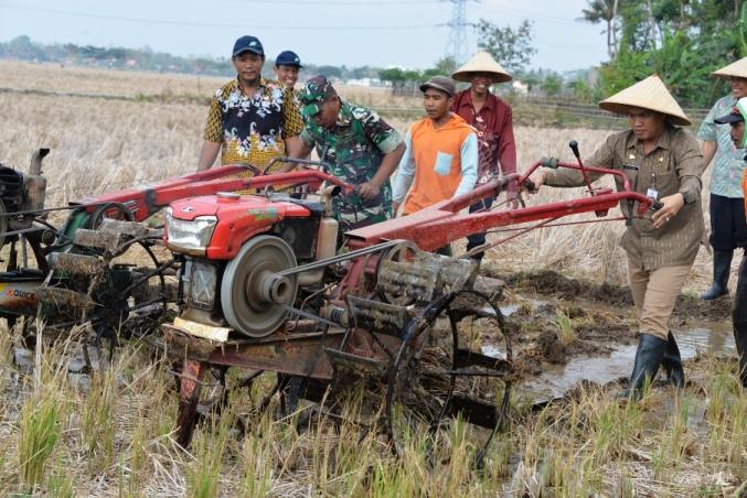 Irigasi Serayu Ngalir, Pemkab Cilacap Dorong Percepatan Pengolahan Sawah
