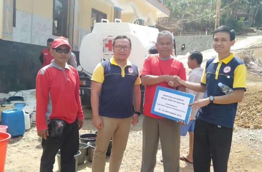 IDI Banjarnegara Gelontor 225 Ribu Liter Air Bersih