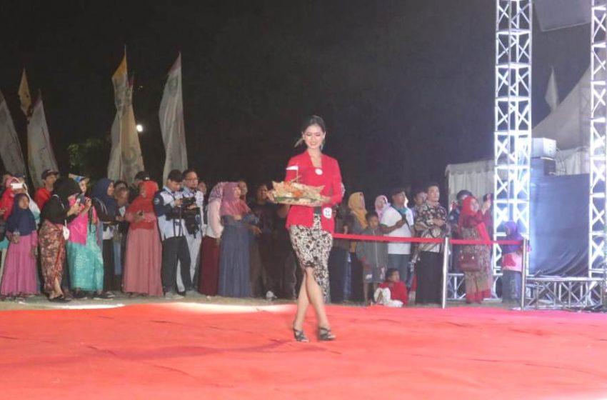 Para Bakul Jamu Cantik di Jamu Goes To Millennial Cilacap