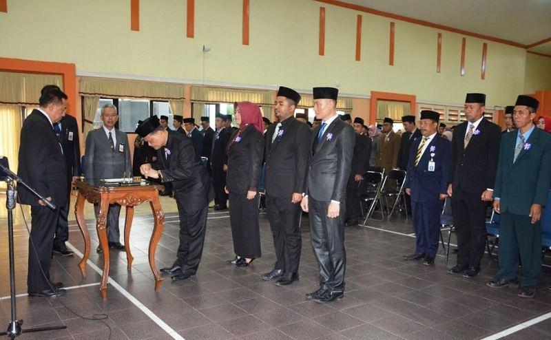 Bupati Cilacap kembali Rotasi dan Mutasi 262 Pejabat