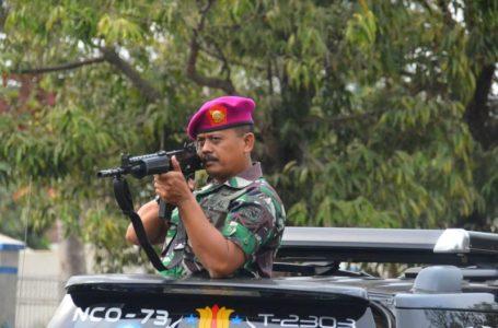 Prajurit Lanal Cilacap Asah Naluri Tempur