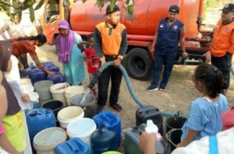 Dua Dusun di Panulisan Dijatah 20 Ribu Liter Air