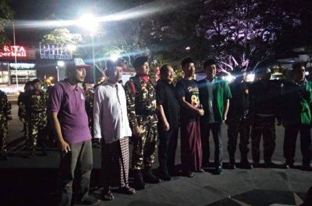 Pelepasan Kemah Bhakti GP Ansor se Jateng ke III di Jepara. Kontingen Banyumas mentargetkan meraih juara umum dalam kegiatan tersebut.