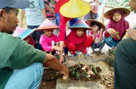 ZONA TANAMAN : Beberapa wahana yang ada di Kampung Gagot yaitu Zona tanaman yang terdiri dari tabulampot, hidroponik, tanaman obat, dan vertikultur.