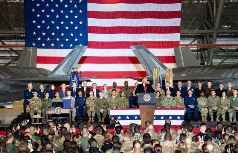 Amerika Serikat Resmikan Angkatan Bersenjata Luar Angkasa