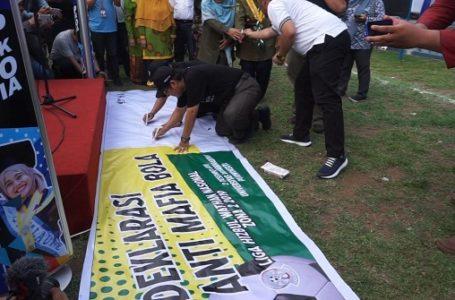 Di UMP, Liga HW Nasional Deklarasi Anti Mafia Bola