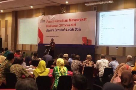 Asisten Administrasi Sekda Cilacap Uong Suparno saat membacakan sambutan Bupati.