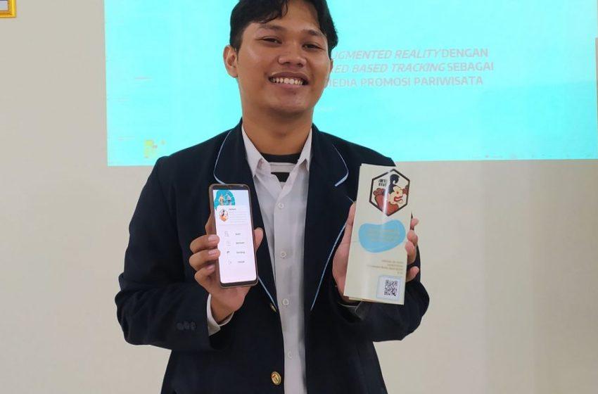 Mahasiswa IT Telkom Purwokerto Ciptakan Brosur 3 Dimensi