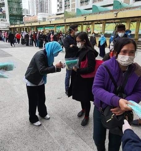 Harga Melonjak dan Langka, Pekerja Migran Asal Cilacap di Hongkong Kekurangan Masker