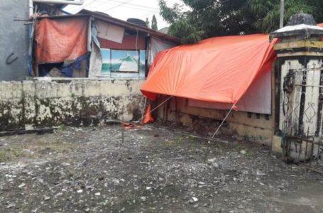 Lahan bekas Kantor Kecamatan Wangon.
