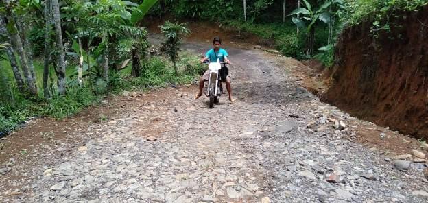 Warga Desak Jalan Hanum menuju Palugon Ditingkatkan