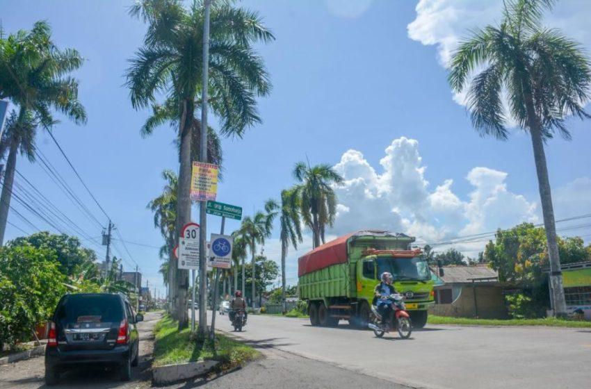 Pelebaran Jalan Urip Sumoharjo Dilanjut, Jalur Lambat Sisa Satu Kilometer