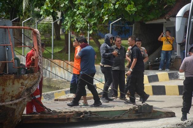 36 Napi Teroris Dipindahkan Ke Nusakambangan