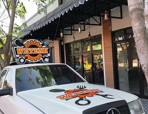 Wabah Corona, Cafe Bengkel Wetenk Sediakan Makan Gratis