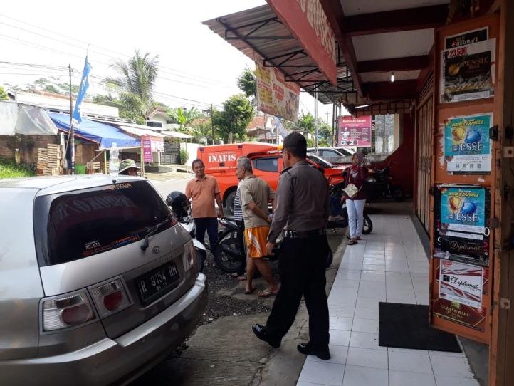 Warung di Kelurahan Pasir Kidul Dimaling, Rokok Seisi Warung Ludes, Rugi Rp 30 Juta
