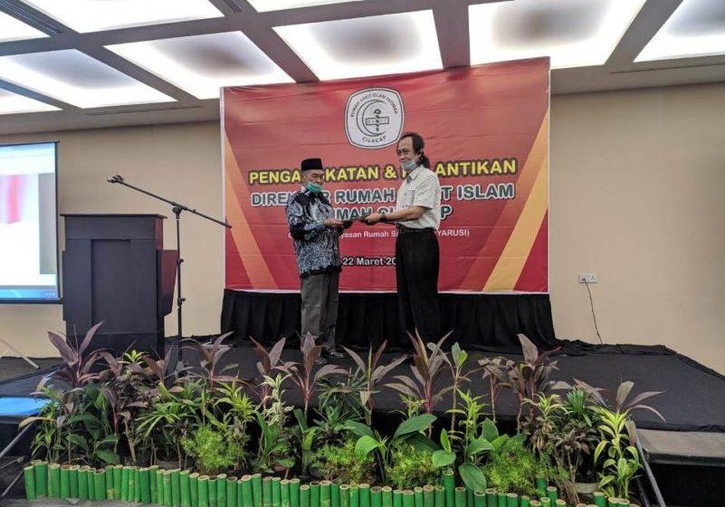 Dokter Putu Wasi Nugroho (Ongk) Dilantik Menjadi Direktur RSI Fatimah