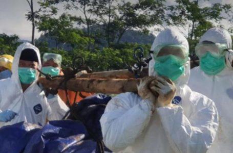 Dibungkus Rangkap Tiga dan Disemprot Disinfektan, Jenazah Covid 19 Dipastikan Aman dan Tak Menularkan Virus
