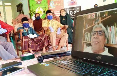 Lebaran virtual ala Warga Merden Banjarnegara