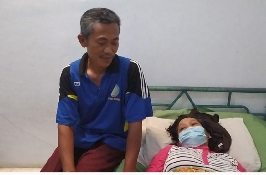Pasien Tumor Asal Lampung Dipulangkan