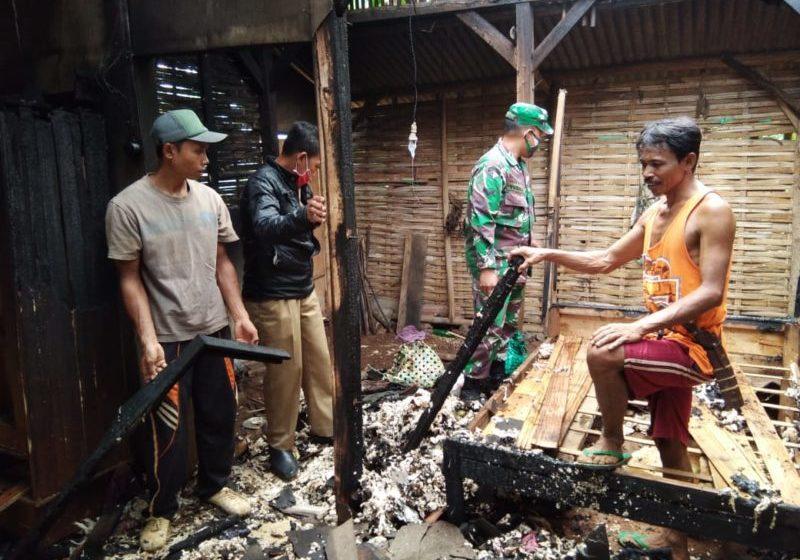 Ditinggal Beli Lilin Saat Listrik Padam, Satu Rumah Ludes Terbakar