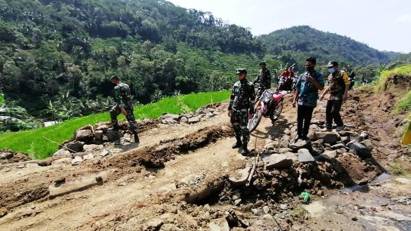 TMMD Menjawab Harapan Kesejahteraan Warga Desa