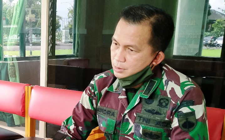 Komandan Kodim 0701/Banyumas Letkol Inf Candra, S.E., M.I.Pol