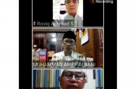 "LTMNU Banyumas Gelar ""Virtual Meeting"", Jelang Jumat'an Perdana di New Normal"