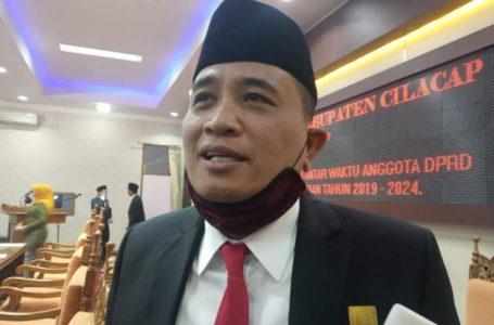 FOTO : Ketua DPRD Kabupaten Cilacap, Taufik Nurhidayat. (Wagino)