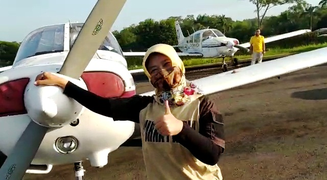Heboh Video Camat Terima Inventaris Pesawat, Pemkab Cilacap Minta Maaf