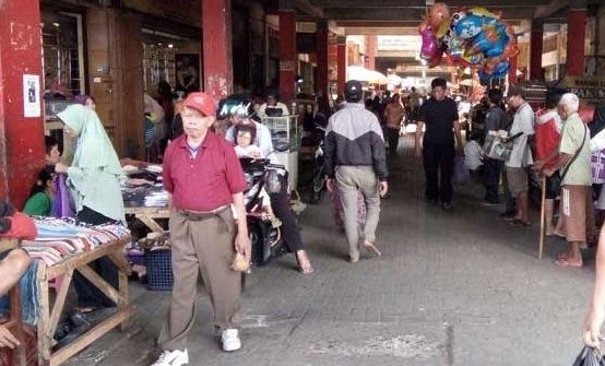 Lima Pedagang Terpapar Covid, Mulai Besok, Pasar Wage Ditutup 3 hari