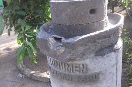 Kisah Dibalik Monumen Gilingan Tahu Di Desa Nusadadi Kecamatan Sidareja
