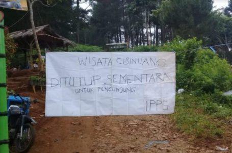 Hindari Gesekan Sosial, Obyek Wisata Cibinuang  Ditutup Sementara