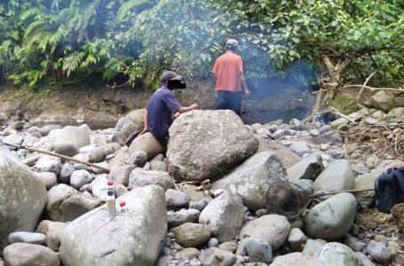 Tebar Racun Ikan di Sungai, Empat Warga Dibekuk