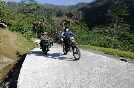 TMMD Banyumas, Kemanunggalan TNI-Rakyat Bangun Negeri di Atas Awan