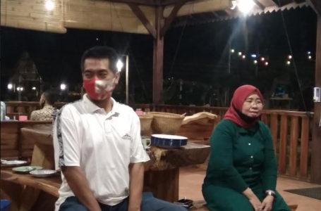 SIAP MAJU : Ketua DPC PKB Banyumas, Siti Mukaromah memberi keterangan tentang kesiapan dirinya maju lagi pada Muscab mendatang