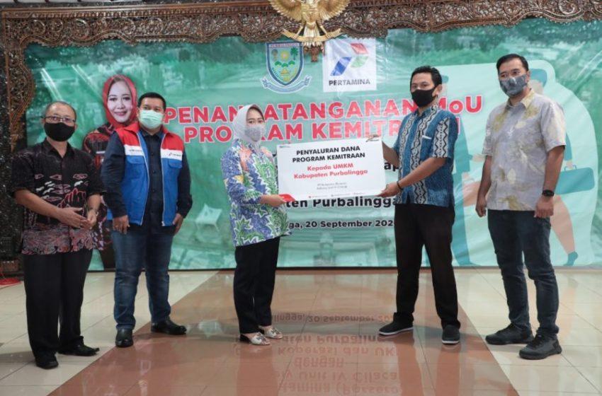 215 UMKM di Purbalingga Ajukan Kredit Bunga Rendah Pertamina