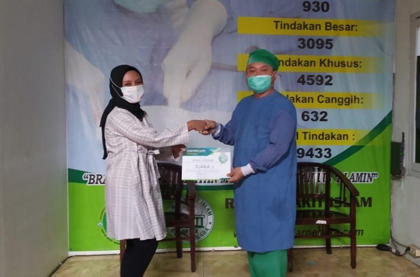 Latifah Juara Lomba Vlog RSI Banjarnegara