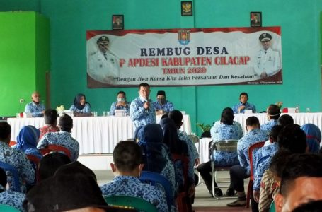 APDESI Cilacap Gelar Rembug Desa Ajukan Advokasi Kades Tersangkut Hukum