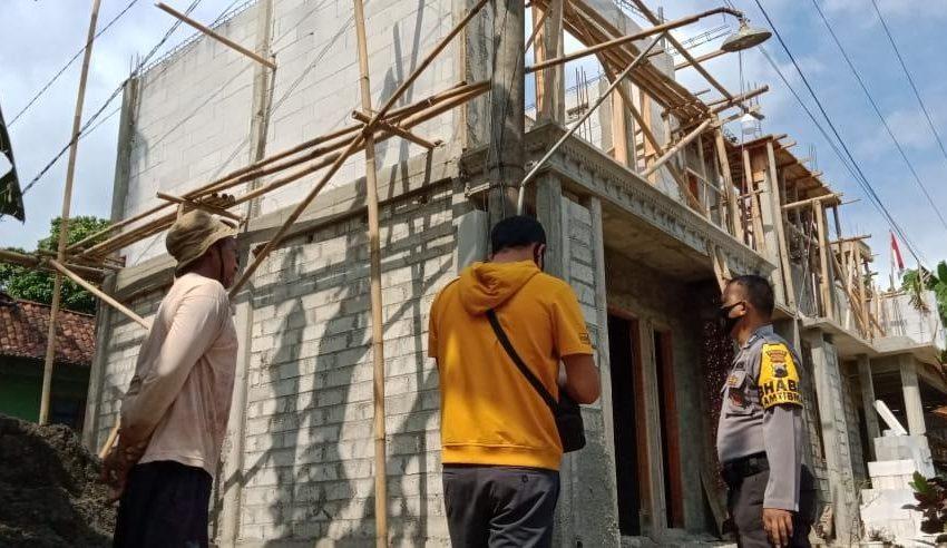 Pekerja Bangunan di Purbalingga Tersengat Listrik