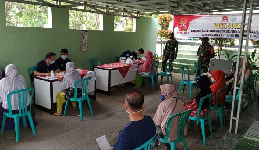 Kodim Gandeng RS Islam Banjarnegara Gelar Pengobatan Massal