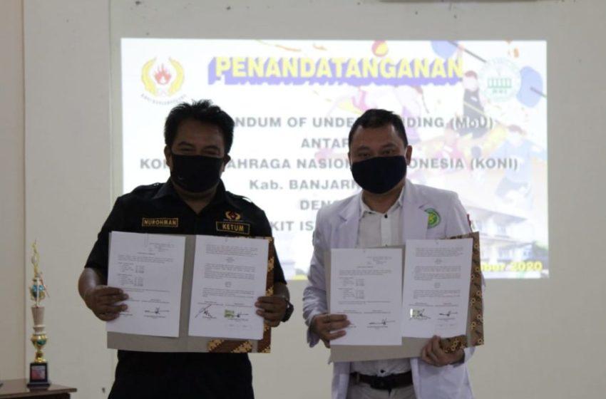 Koni Gandeng RS Islam Majukan Prestasi Atlet Banjarnegara