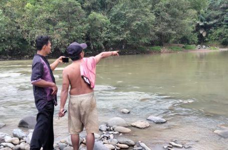 LOKASI: Sungai Cijolang Blok Lewi Goci Dusun Cikadu Desa Bingkeng Kecamatan Dayeuhluhur lokasi korban tewas tenggelam, Kamis (29/10).