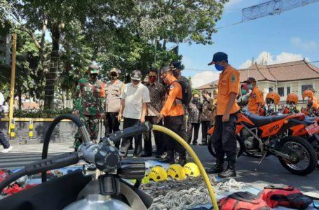 Siap Saga Hadapi Bencana Alam, Polres Banjarnegara Bersama Forkopimda Gelar Apel Bersama
