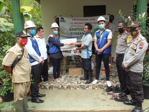 PT 25 Grup Peduli Korban Banjir dan Longsor Banyumas dan Cilacap