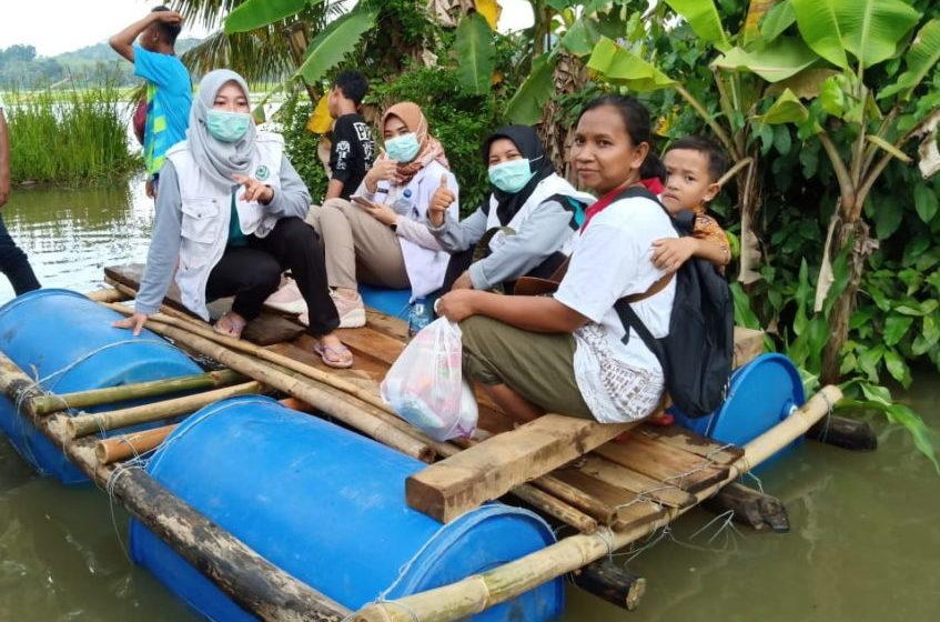 Warga Terdampak Banjir Mulai Diserang Gatal dan Diare
