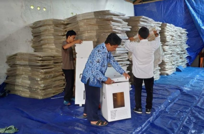 Logistik Pemilu Sesuai Tahapan