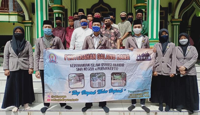Kerohanian Islam (Rohis) Akhdir SMA Negeri 4 Purwokerto