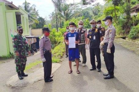 16 Warga terjaring Operasi Prokes di Desa Negarajati